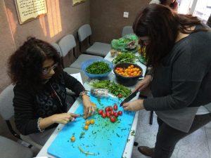 סדנת בישול למורים ערבים ויהודים2