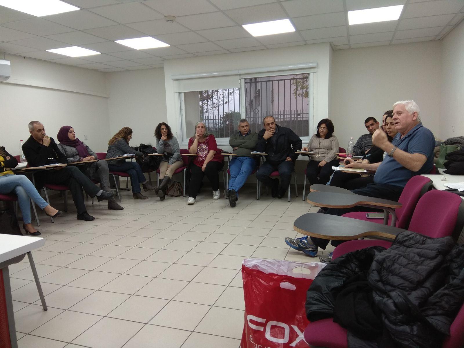 קורס תקשורת מקרבת ורב תרבותיות למורים ערבים ויהודים יחד2